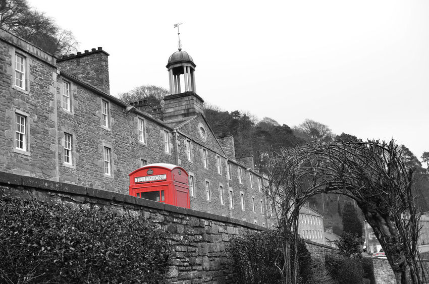 Architecture Built Structure Mill New Lanark Old Building  Old Buildings Old Wall Red Telephone Red Telephone Box Telephone Box Tenement Tenements