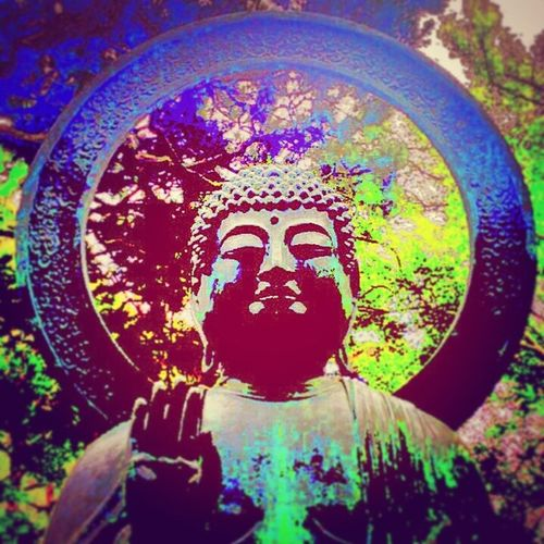 Having fun with some Photoes I took in Us 2 weeks ago. Buddha Lowfi