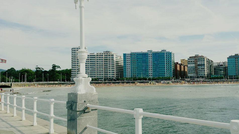 Beautiful Day Gijón Beach Asturias Mar Cantabrico Playadesanlorenzo España Life Is A Beach Playasdeasturias