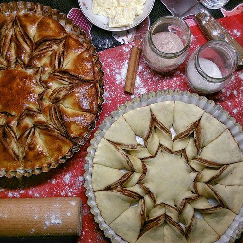 Merry Christmas Baking Christmastime Foodporn Kanelbullar Cinnamon Star Omnomnom