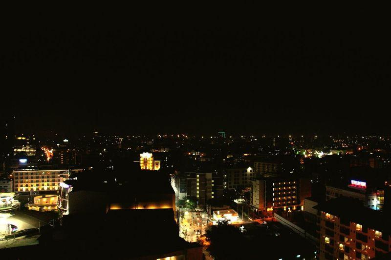 Night Lights A Day In Bangkok City