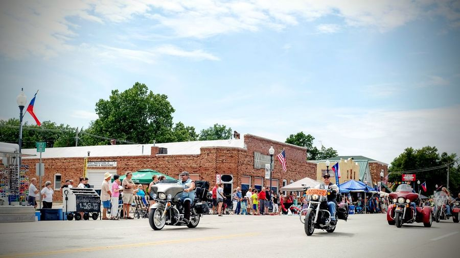 55th Annual National Czech Festival August 5, 2016 Wilber, Nebraska Celebrate Your Ride Celebration Color Photography Czech Days Czech Festival Event EventPhotography Group Of People Leisure Activity Lifestyles Main Street USA Midday Sunlight Motorcycle Club Motorcycles Nebraska Parade Road Smal Town USA Small Town America Small Town USA Streetphotography Summertime The Way Forward Veterans Wilber, Nebraska