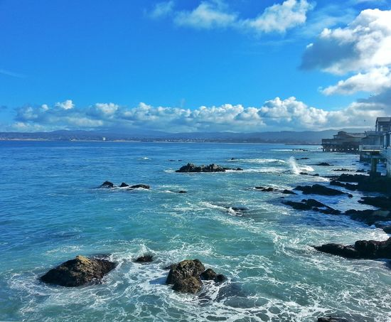 New Edit, Old Photo Ocean HDR Vacation Monterey Bay Monterey Travel Photography Monterey Bay Aquarium Blue Ocean Waves