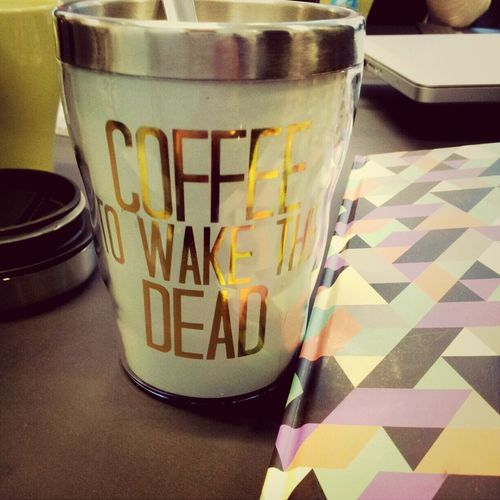 Coffee to wake the dead