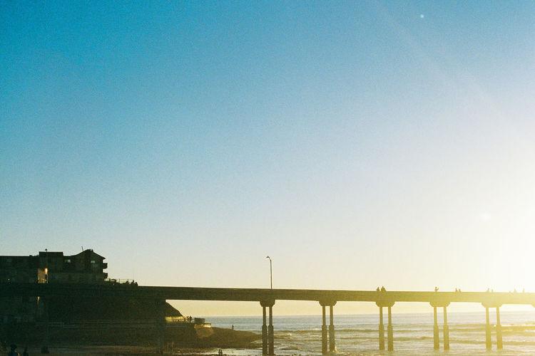 Analogue Photography California California Dreamin California Sunset EyeEmNewHere Film Ishootfilm Pacific Pier WestCoast Day Filmisnotdead Horizon Over Water Nature Ocean Sky Sun Sunlight Sunset Water