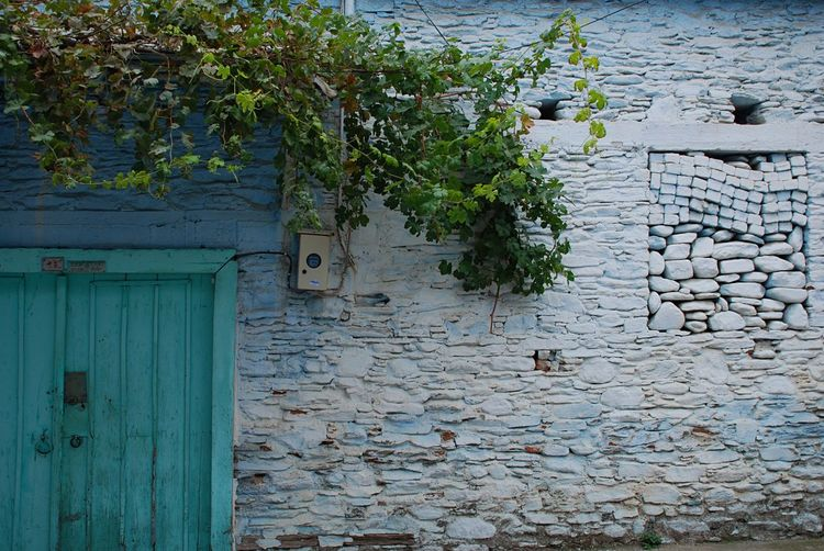 Stone Wall Stone House Blue Door İzmir Tire Türkiye Streetphotography Street Photography Evrything In Its Place Blue Blue Wall Door Window The Door The Window To The Soul The Window To Our Soul The Secret Spaces