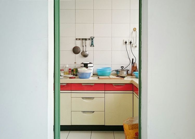 Interior Of Kitchen