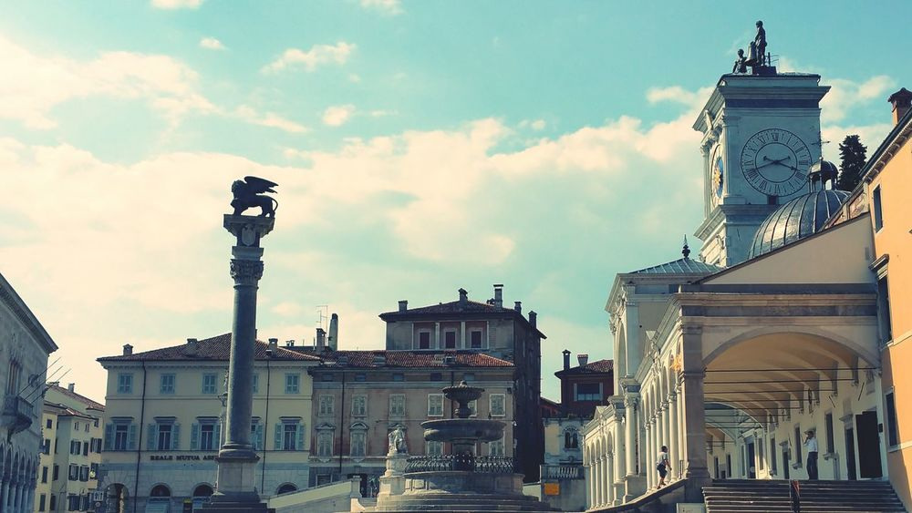 Pomeriggio caldo a Udine Udine Friuliveneziagiulia Friuli Venezia Giulia Hot