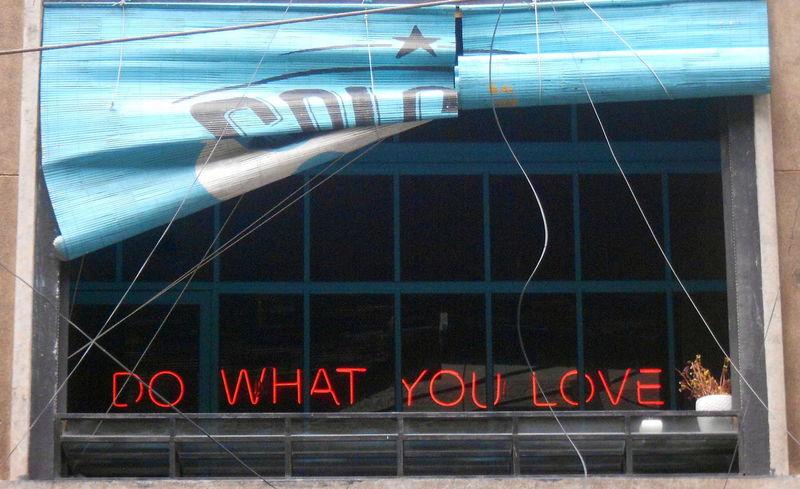 Architecture Building Exterior Communication Day Do What You Love Do What You Love And Love What You Do❤ Ho Chi Minh City No People Outdoors Text Vietnam Vietnam Trip
