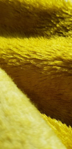 Full frame shot of yellow sea