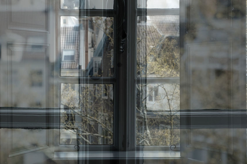 Huis Marseille Cityscape Multiple Exposures Reflection Abstract Exposure Glass Museum Urban Window
