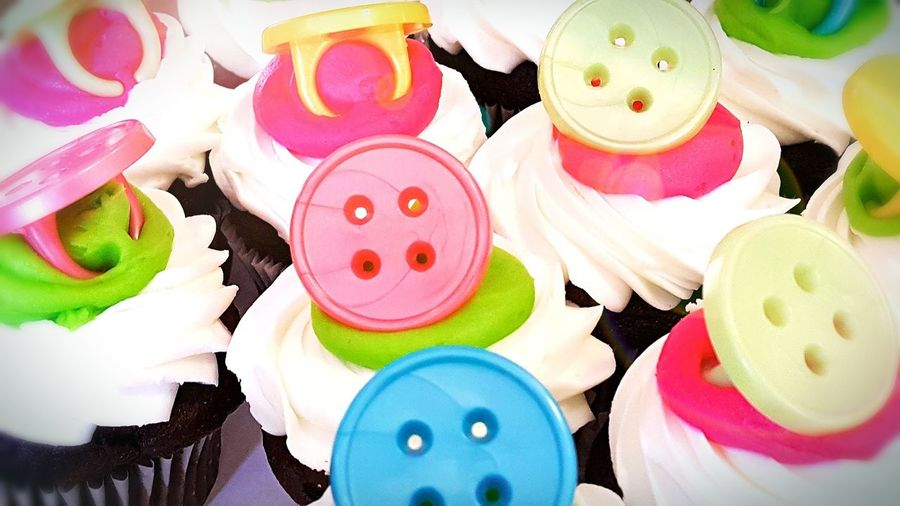 Baby-Cakes! Baked Goods Buttons Baby Shower Baby Babies Pastel Cupcakes Photography Photographer Designer  Graphic Design ArtWork Colorful Vibrantlife Loveit First Eyeem Photo