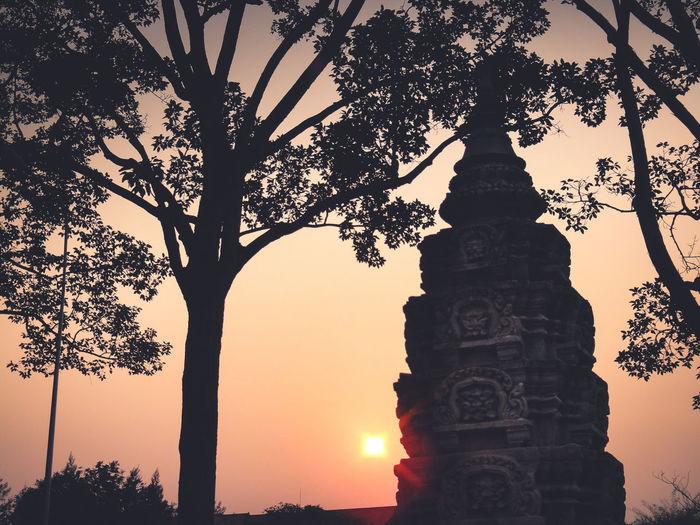 Khmer Temple Travel Photography Travel Destinations Tourism Tourist Attraction  Sunset Matte ASIA Archaeological Site