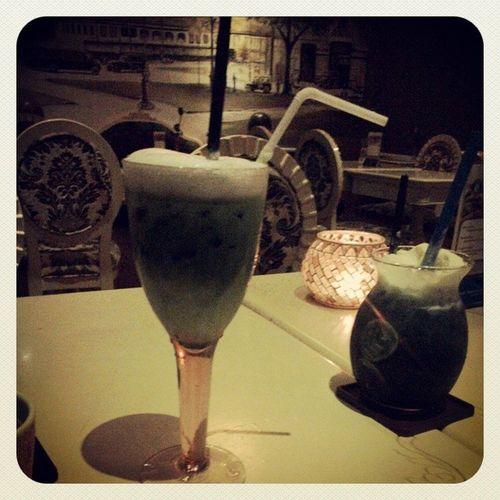 Matchamilk Blueseasoda Elevencoffee <3