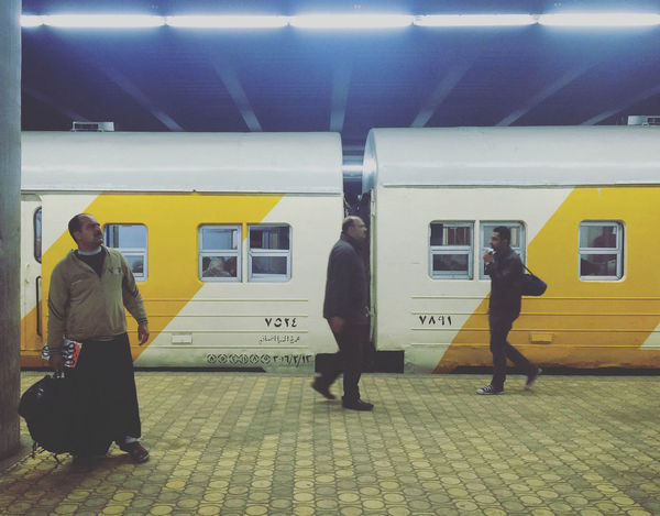 Adult Alexandria Commuter Day Full Length Indoors  Lifestyles Men Mode Of Transport Passenger People Public Transportation Rail Transportation Railroad Station Real People Standing Subway Platform Subway Train Train - Vehicle Transportation Travel EyeEmNewHere
