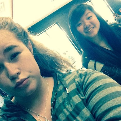 At lunch with my Asian :) @ohreallyvictoria Lunchbound Asian  Stillcutetho
