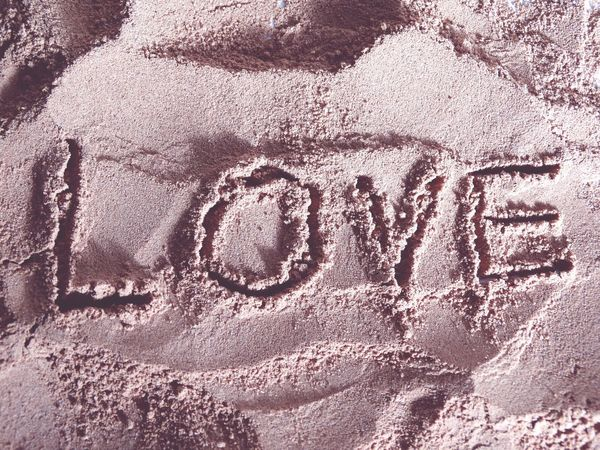 Love. Love Love ♥ Chocolate Sand Words Quotes Sign Draw Focus Relaxing Calm Love Words Words In Sand Beautiful Lovelovelove Lovely Nice Happy Happiness