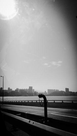 Black And White Loneliness Bridge