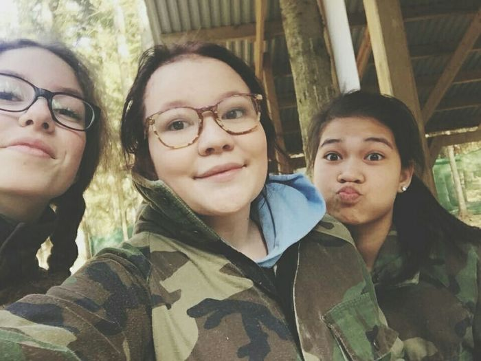 Paintballing Throwback ♡