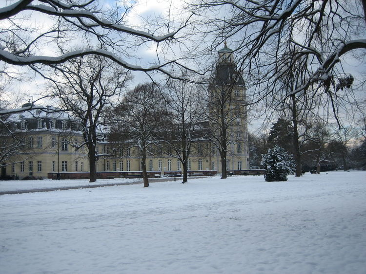 Photos of Karlsruhe, Germany 2007 Architecture Bare Tree Beauty In Nature Branch Cold Temperature Day Nature No People Outdoors Sky Snow Snow ❄ Snowing Tranquility Tree Weather Winter Winter Winter Trees Winter Wonderland Wintertime Winterwonderland