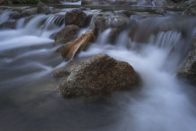 Fresh, calm, peaceful of Batu Kurau River, Taiping, Perak, Malaysia Calm Nature Pure Riverside Serenity Travel We Beauty In Nature Blurred Motion Close-up Day Long Exposure Motion Nature No People Outdoors Peaceful River Rock - Object Scenics Serenity Nature_collection Stream Water Waterfall Waterfront