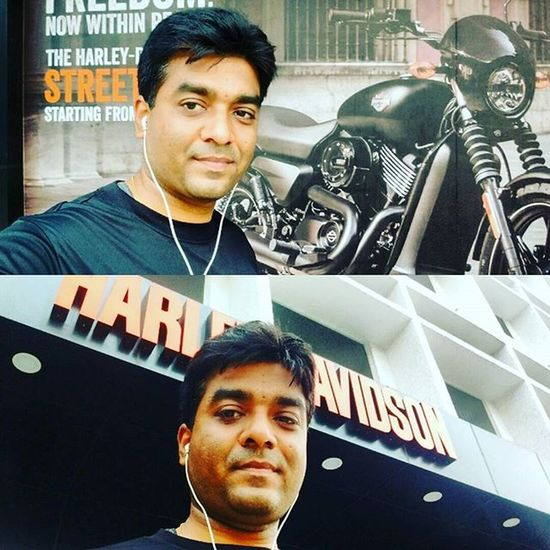 Driving the beast....unleashing the beast within... Feeling Empowered Funfilled Testdrive Harleydavidson