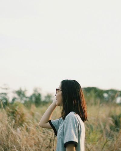 EyeEm Selects One Person Real People Women Nature Outdoors Clear Sky Lifestyles Young Women