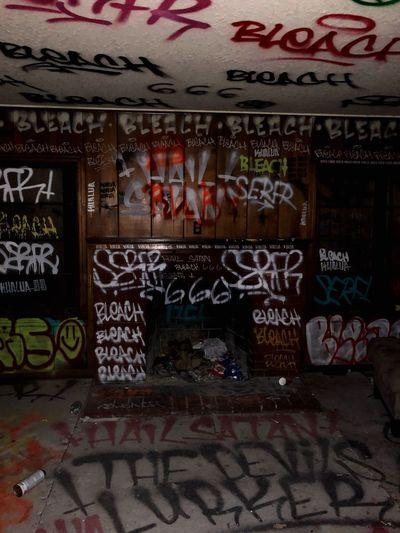 Graffiti Text Street Art Communication Multi Colored No People Day Architecture