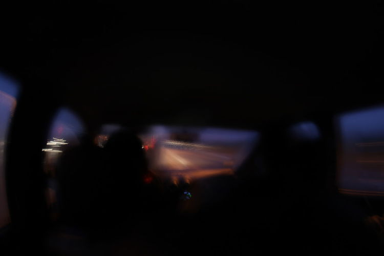 Night Transportation Mode Of Transportation Motion Car People Blurred Motion on the move Silhouette Motor Vehicle Dark Nightlife