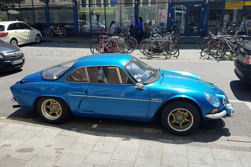Snapshot Renault Alpine Heidelberg 😍