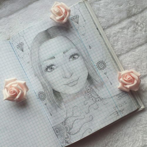 🌹 Draw Drawing Getting Inspired Zeichnung  Woman Pencil Bleistift Beautiful 🌹