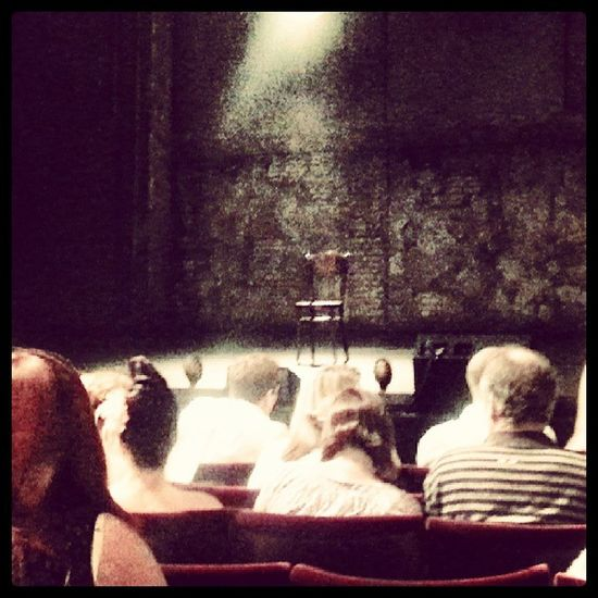 Derrenbrown Infamous Palacetheatre London Amazing Mindblown  Stage Chair