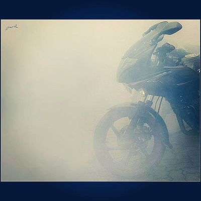 My Ride :) Pulsar220 220 Bajaj Bike Smog Morning Devilsride Biking Bikers Gotd_919 Gramoftheday