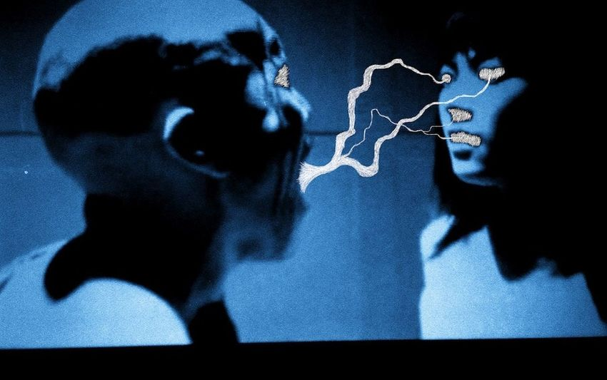 "From my ""Blue Bastards"" series. Edited from a still of ""Hellevator: the bottled fools"" (グシャノビンヅメ) a 2004 film by Hiroki Yamaguchi. Vscogrid Vscogood VSCO VSCO Cam Vscophile Filmsnotdead Ilford Ishootfilm Bastard Photodraw"