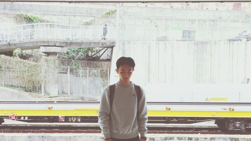 That's Me Hello World Metro Waiting Streetphotography Selfportrait EyeEm Best Shots OpenEdit HK