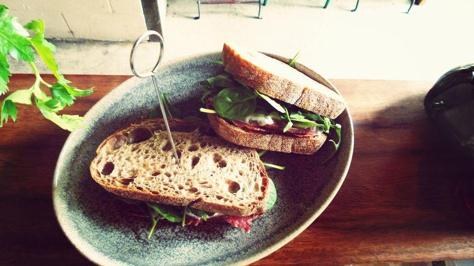 Salami sandwich Foodporn Ultimo Foodstagram Foodhunting