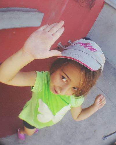 My Little Daughter My Daughter A Day At The Park At The Park Little Girl Doing Exercise  Hat Little Smile ♥ Smiling Happy :) Smile ✌ At The Park⛳ Smile❤ My Daughter ❤️ Healthy Lifestyles Healthy Lifestyle Happy People Healthy Life Parkour Upfive Up Five Yeah Dad!