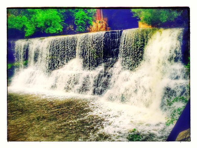 Chagrin Falls Cleveland Ohio Motion Water No People Day Outdoors Power In Nature Nature Waterfall Beauty In Nature Tree The Great Outdoors - 2017 EyeEm Awards The Street Photographer - 2017 EyeEm Awards EyeEmNewHere Mix Yourself A Good Time The Week On EyeEm