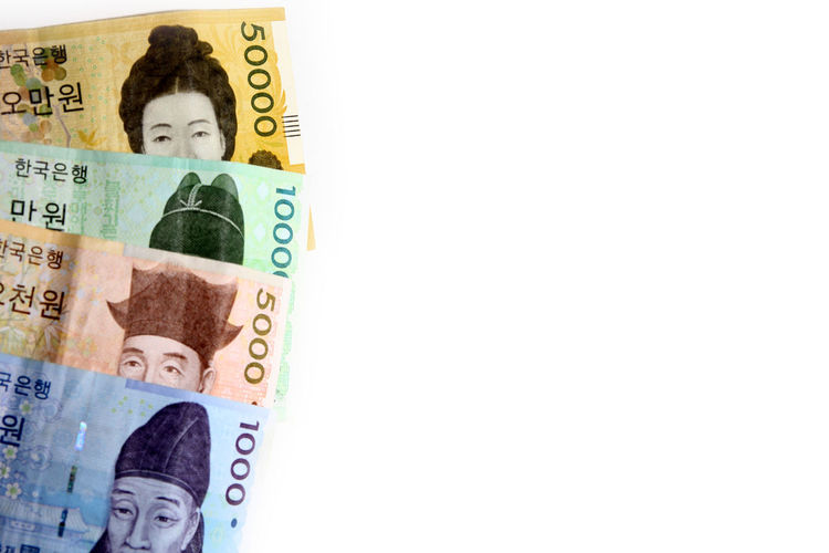 Korean bank notes as background Korean Won South Korea Abundance Bringing Home The Bacon Business Close-up Consumerism Copy Space Corporate Business Currency Cut Out Economy Exchange Rate Finance Investment Korea Bank Notes Making Money No People Number Paper Currency Savings Studio Shot Wealth