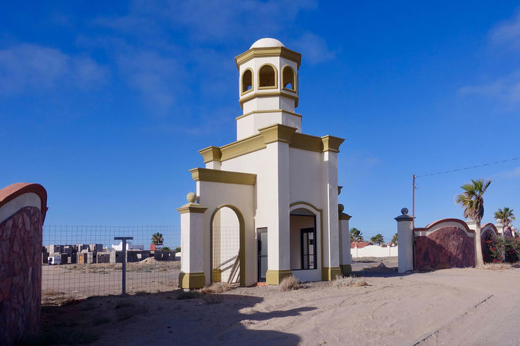 A gate tower