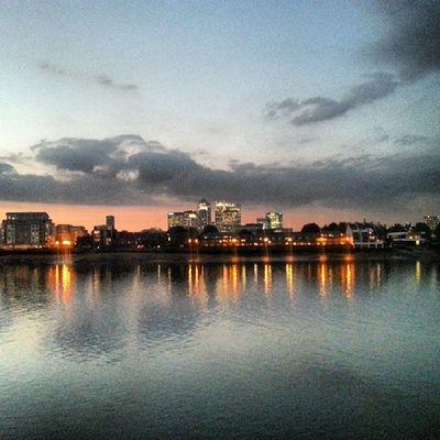 Canarywharf River Thethames Home Greenwich Islandgardens Cuttysark Lights Loveit