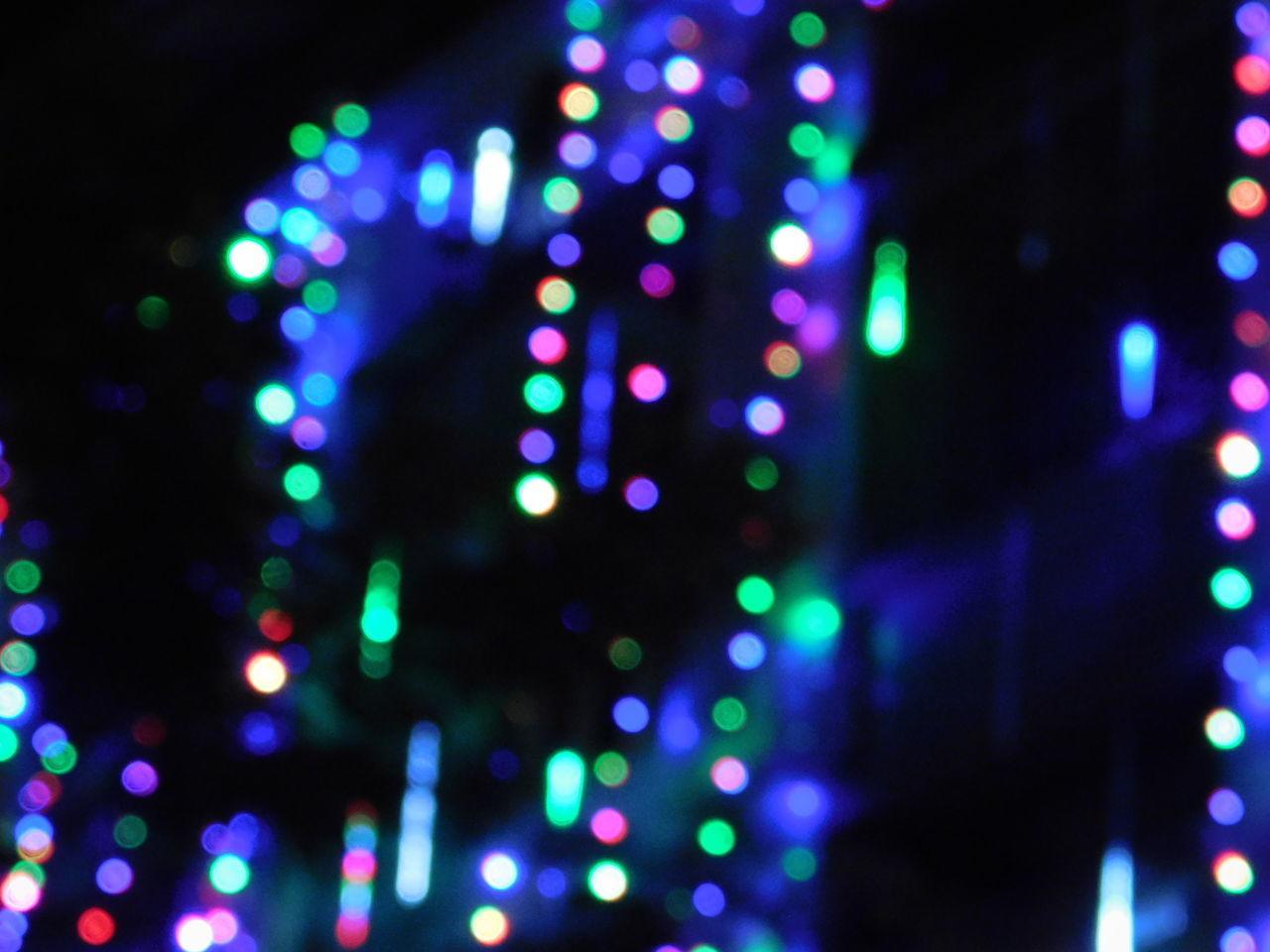 illuminated, defocused, night, lighting equipment, multi colored, glowing, pattern, no people, decoration, light, lens flare, light - natural phenomenon, celebration, electricity, technology, christmas decoration, electric light, christmas lights, christmas, abstract, nightlife
