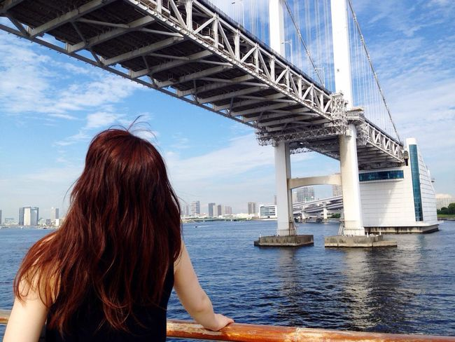 Under The Bridge Tokyo On The Ship Tokyo Rainbow Bridge