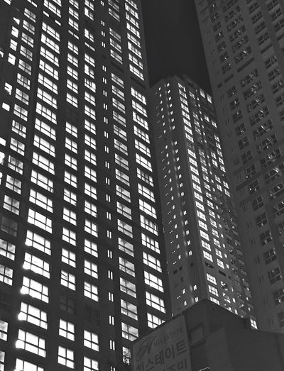 Building Built Structure Low Angle View Architecture Building Exterior Building City No People Modern Tall - High Day Office Building Exterior Travel Destinations Outdoors Pattern Illuminated Nature Tower Text Skyscraper Apartment