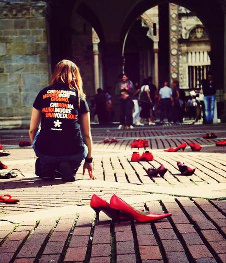 Me Shoes Modernart Stopwomanviolence