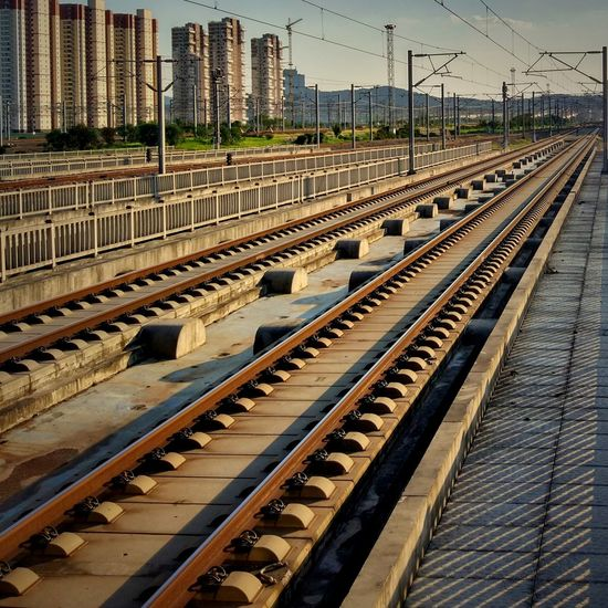 Railroad Track Travel