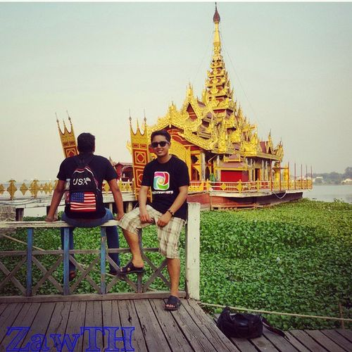 Me and Bro at WWIM11 Mandalay,Myanmar. Mandalay Myanmar Royalboat Igersmyanmar Igersmandalay Vscomyanmar Igglobal Instameet Asianguy Igguy Nepaleseguy Nepaleseboy Wwim11 Wwim11myanmar Rcnocrop