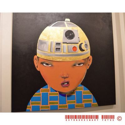 Not in the mood Star Wars R2D2 Art