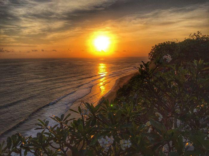 Bvlgari Sunset at beautiful Bvlgari Bali hotel to enjoy the splendid sunset here.