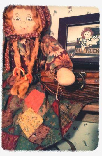 Ragdoll...livin' in a movie ? Ragdoll Raggedy Ann Dolly Vintage